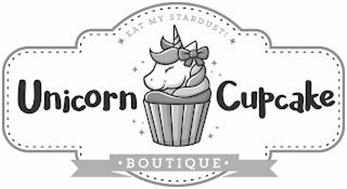 UNICORN CUPCAKE · BOUTIQUE · EAT MY STARDUST!