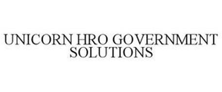 UNICORN HRO GOVERNMENT SOLUTIONS
