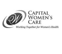 CAPITAL WOMEN'S CARE WORKING TOGETHER FOR WOMEN'S HEALTH W