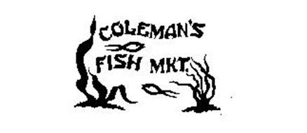 Coleman 39 s fish mkt trademark of union fish market inc for Coleman s fish