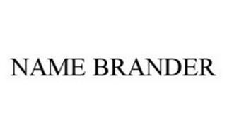 NAME BRANDER