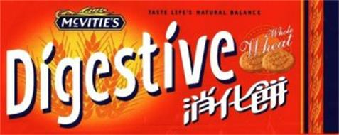MCVITIE'S DIGESTIVE TASTE LIFE'S NATURAL BALANCE WHOLE WHEAT