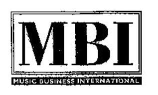MBI MUSIC BUSINESS INTERNATIONAL