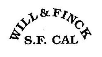 WILL & FINCK S.F. CAL