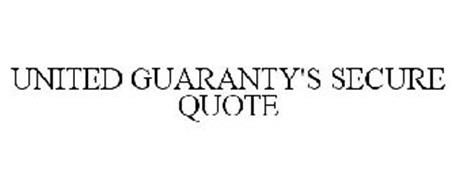 UNITED GUARANTY'S SECURE QUOTE