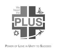 WE NEED THE PLUS POWER OF LOVE IN UNITY TO SUCCEED