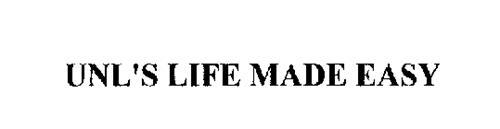 UNL'S LIFE MADE EASY