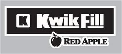 K KWIK FILL RED APPLE