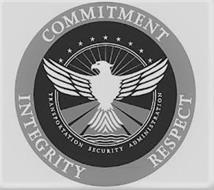 COMMITMENT INTEGRITY RESPECT TRANSPORTATION SECURITY ADMINISTRATION