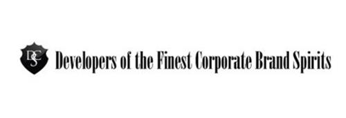 DSC DEVELOPERS OF THE FINEST CORPORATE BRAND SPIRITS