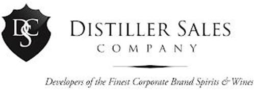 DSC DISTILLER SALES COMPANY DEVELOPERS OF THE FINEST CORPORATE BRAND SPIRITS & WINES