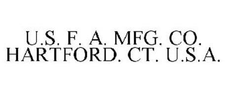 U.S. F. A. MFG. CO. HARTFORD. CT. U.S.A.