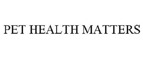 PET HEALTH MATTERS
