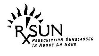 RX SUN PRESCRIPTION SUNGLASSES IN ABOUT AN HOUR