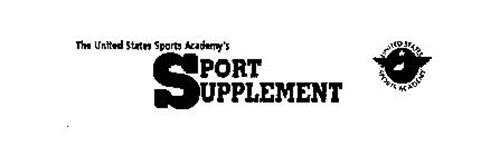 THE UNITED STATES SPORTS ACADEMY'S SPORT SUPPLEMENT UNITED STATES SPORTS ACADEMY
