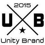 2015 U B UNITY BRAND