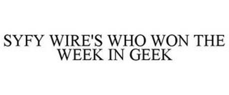 SYFY WIRE'S WHO WON THE WEEK IN GEEK