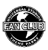 UNIVERSAL STUDIOS THEME PARKS FAN CLUB