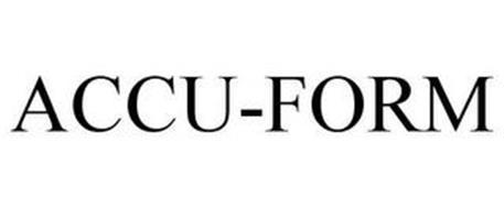 ACCU-FORM