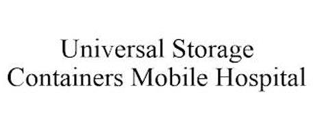 UNIVERSAL STORAGE CONTAINERS MOBILE HOSPITAL