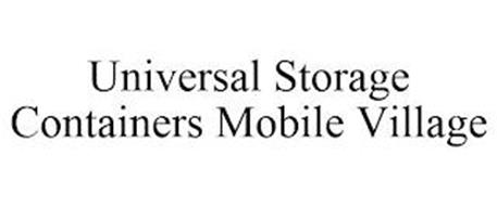 UNIVERSAL STORAGE CONTAINERS MOBILE VILLAGE