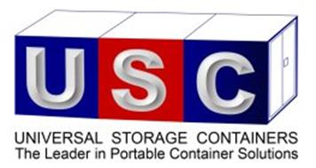 USC UNIVERSAL STORAGE CONTAINERS THE LEADER IN PORTABLE CONTAINER