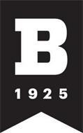 B 1925