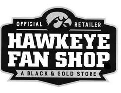 OFFICIAL RETAILER HAWKEYE FAN SHOP A BLACK & GOLD STORE