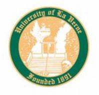 UNIVERSITY OF LA VERNE FOUNDED 1891