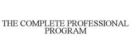 THE COMPLETE PROFESSIONAL PROGRAM