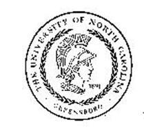 THE UNIVERSITY OF NORTH CAROLINA GREENSBORO 1891
