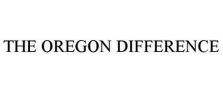 THE OREGON DIFFERENCE