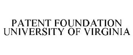 PATENT FOUNDATION UNIVERSITY OF VIRGINIA