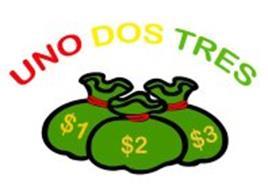 UNO DOS TRES $1 $2 $3