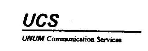 UCS UNUM COMMUNICATION SERVICES