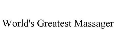 WORLD'S GREATEST MASSAGER