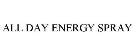 ALL DAY ENERGY SPRAY