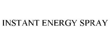 INSTANT ENERGY SPRAY