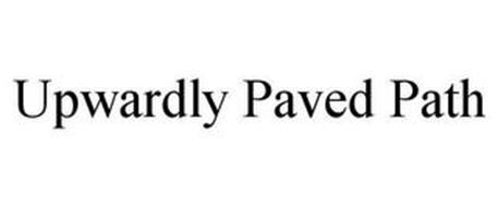 UPWARDLY PAVED PATH