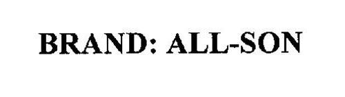 BRAND: ALL-SON