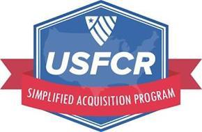 USFCR SIMPLIFIED ACQUISITION PROGRAM