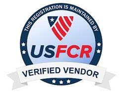 USFCR VERIFIED VENDOR THIS REGISTRATION IS MAINTAINED BY