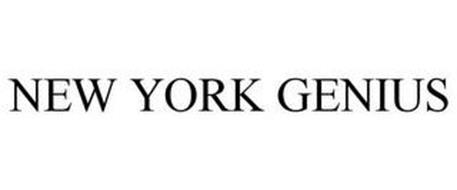NEW YORK GENIUS