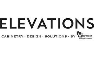 ELEVATIONS CABINETRY · DESIGN · SOLUTIONS · BY WISCONSIN BUILDING SUPPLY