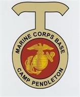 T MARINE CORPS BASE CAMP PENDLETON