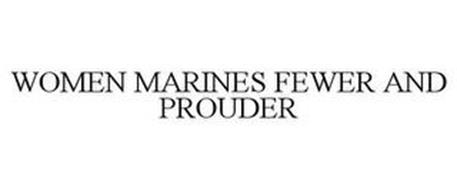 WOMEN MARINES FEWER AND PROUDER
