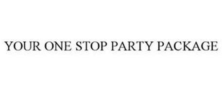 YOUR ONE STOP PARTY PACKAGE