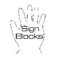 SIGN BLOCKS