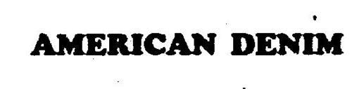 AMERICAN DENIM