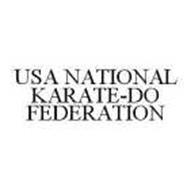 USA NATIONAL KARATE-DO FEDERATION